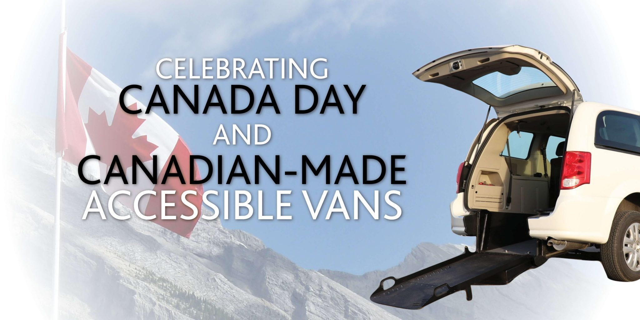 Canadian-made wheelchair accessible vans