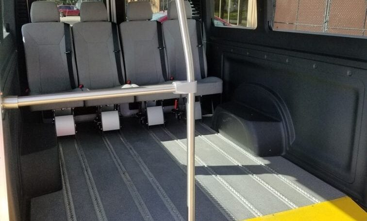 side entry ram promaster seating