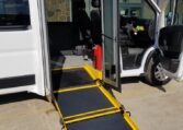 full size van with side entry wheelchair ramp