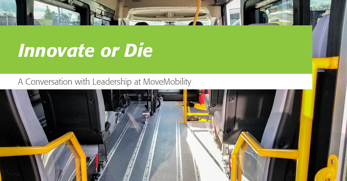 innovate or die conversation with movemobility leadership