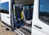 2021 ford transit high roof wheelchair van with ramp