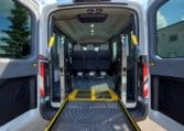 Ford Transit wheelchair mobility van with wheelchair lift