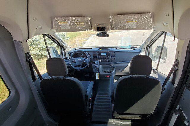 ford transit driver compartment